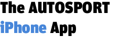The AUTOSPORT iPhone App