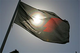Formula One F1 logo flag