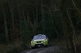 Marcus Gronholm during Wales Rally GB