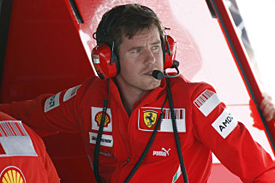 Rob Smedley, Ferrari, 2008