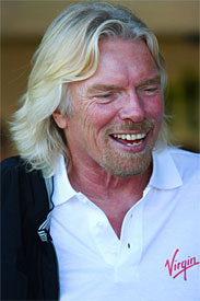 Richard Branson in Melbourne