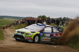 Mikko Hirvonen, Ford, Rally Poland 2009