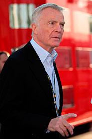 Max Mosley at Monza