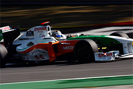 Adrian Sutil, Force India, Italian GP