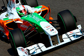 Vitantonio Liuzzi, Force India, Italian GP