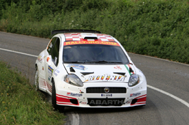 Giandomenico Basso, Abarth, Rally Asturias 2009