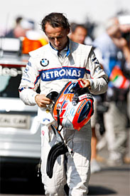 Robert Kubica, BMW Sauber, Italian GP