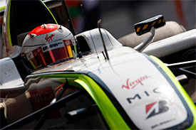 Rubens Barrichello, Brawn Italian GP