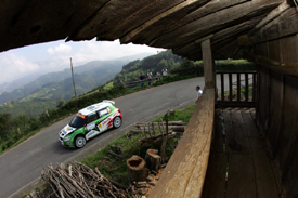 Jan Kopecky, Skoda, Rally Asturias 2009