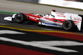 Jarno Trulli, Toyota, Monza 2009