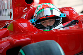 Giancarlo Fisichella, Ferrari, Italian GP