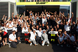 Brawn team, Italian GP