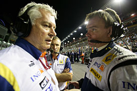 Pat Symonds and Alan Permane, Singapore, 2008