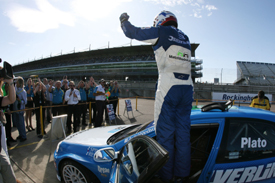 Jason Plato wins at Rockingham