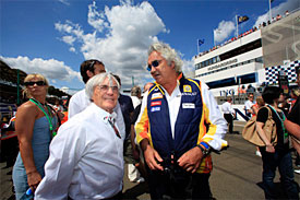 Bernie Ecclestone, Flavio Briatore, Hungary