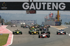Kyalami A1GP start 2009