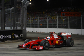 Giancarlo Fisichella, Ferrari, Singapore
