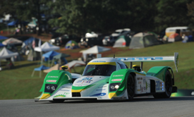 Franchitti/Leitzinger, Dyson Lola-Mazda, Petit Le Mans 2009