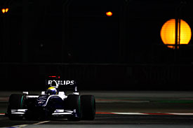 Nico Rosberg, Williams, Singapore GP