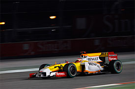 Fernando Alonso, Renault, Singapore GP