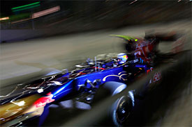 Sebastien Buemi, Toro Rosso, Singapore GP