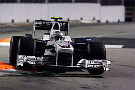Nick Heidfeld, BMW Sauber, Singapore GP
