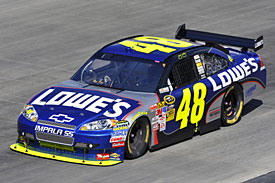 Winner Jimmie Johnson, Dover, 2009