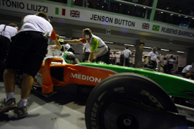 Tonio Liuzzi, Force India, Singapore 2009