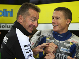 Herve Poncharal and James Toseland