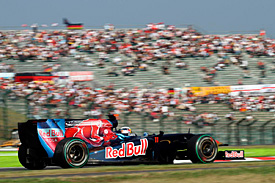 Sebastien Buemi, Toro Rosso, Japanese GP