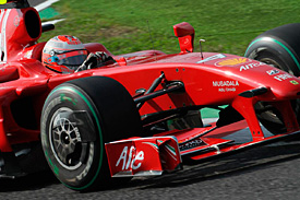 Kimi Raikkonen, Ferrari, Japanese GP