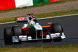 Adrian Sutil, Force India, Japanese GP