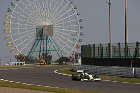 Rubens Barrichello, Brawn GP, Suzuka, 2009