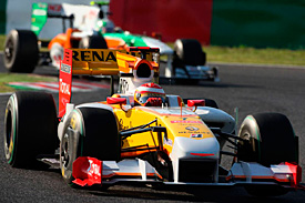 Fernando Alonso, Renault, Japanese GP