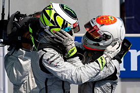 Jenson Button, Rubens Barrichello