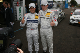 Bruno Spengler and Paul di Resta