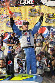 Jimmie Johnson wins at Fontana