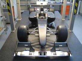 Lotus windtunnel model