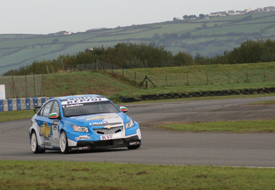 Vladimir Arabadzhiev, Chevrolet, Pembrey testing 2009