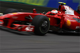 Kimi Raikkonen, Ferrari, Brazilian GP