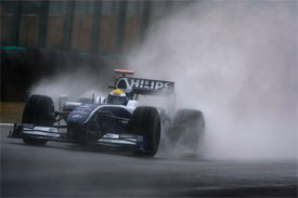 Nico Rosberg, Williams, during practice for the Brazilian GP