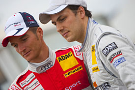 Timo Scheider and Gary Paffett, 2009