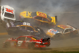 Talladega wreck, April 2009