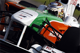 Adrian Sutil, Force India, Abu Dhabi GP