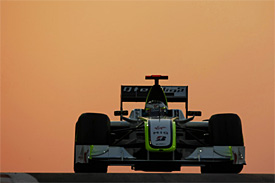 Jenson Button, Brawn, Abu Dhabi GP