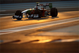 Tonio Liuzzi, Force India, Abu Dhabi GP