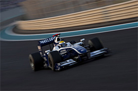 Nico Rosberg, Williams, Abu Dhabi GP