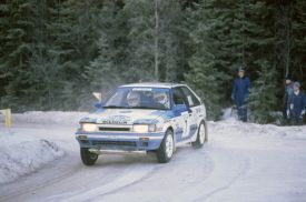 Ingvar Carlsson Swedish Rally 1989