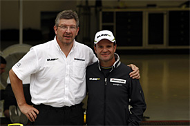 Ross Brawn, Rubens Barrichello