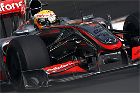 Lewis Hamilton, McLaren, Abu Dhabi GP